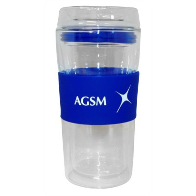 AGSM Glass Coffee Cup